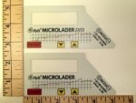 evoJet Orbit Microlader Replacement Faceplate Labels - Product Image