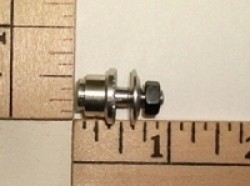 "E Cubed R/C Prop Adaptor 2.0mm(0.08"") X 5mm shaft - Product Image"