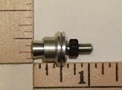"E Cubed R/C Prop Adaptor 2.3mm(0.09"") X 5mm shaft - Product Image"