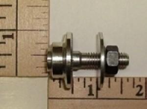 E Cubed R/C Prop Adaptor 6mm motor shaft x 8mm prop shaft - Product Image