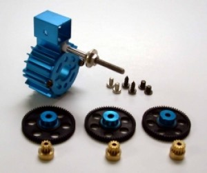 Himax Offset Stick Mount Gearbox S-280-300-301-350-370 & Brushless 24mm Motors - Product Image