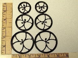 Du-Bro Micro Lite 38mm/1.5 Inch Wheels pair - Product Image