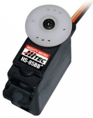 Hitec HS-85BB  Ball Bearing Micro Servo - Product Image