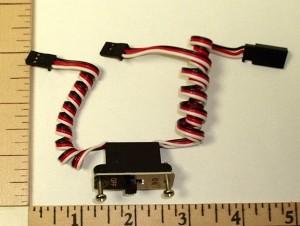RRC Heavy Duty Switch Harness Futaba J - Product Image