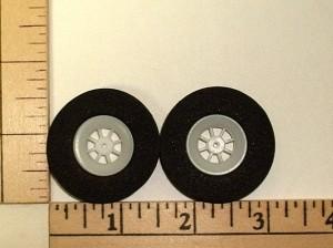 """GWS Spoked Light Foam Wheel Set 1.5"""" (37mm) - Product Image"""
