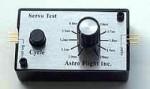 Astro Flight Servo Tester #105 - Product Image