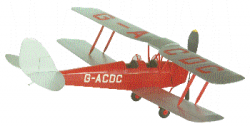 Flair Mini Classics Series Tiger Moth DH82A - Product Image