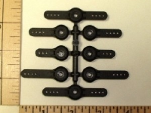 Sonic Tronics Composite Heavy Duty Servo Arms 8 Pack Futaba - Product Image