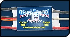 Castle Creations Thunderbird 18 Brushless Controller - Product Image