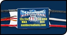 Castle Creations Thunderbird 9 Brushless Controller - Product Image