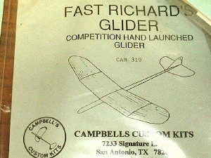 "Fast Richard's Glider 18"" HLG - Product Image"