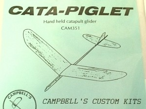 "Cata-Piglet Catapult Glider 13"" - Product Image"