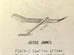 "Jesse James F1H Towline Glider 46"" - Product Image"