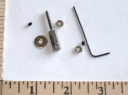 GWS Stainless Steel 2.3mm Prop Adaptor - Product Image