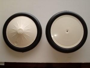 """Flair Vintage Wheels 6.63"""" Diameter, One Pair - Product Image"""