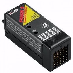 Hitec Fusion 9 Synthesized FM Receiver - Product Image