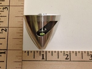 """Aluminum Precision Spinner/Prop Adapter 40x3.0mm(0.118"""") Color may vary - Product Image"""