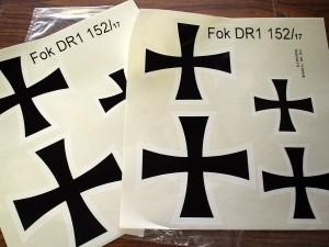 Fokker DRI  152/17 Decal Set - Product Image
