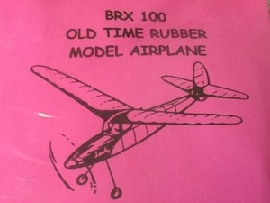 "Free Flight Old Time Rubber ""Sparky"" Brand X Models - Product Image"