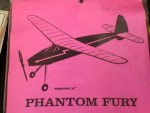 "Free Flight Old Time Rubber ""Phantom Fury"" Brand X Models - Product Image"