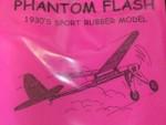 "Free Flight Old Time Rubber ""Phantom Flash"" Brand X Models - Product Image"