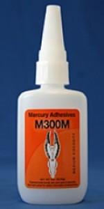 Mercury M300 medium viscosity adhesive 2 oz - Product Image
