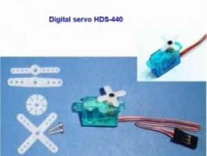 HECO 440 Plastic Gear Micro Servo JR/Universal Connector  50% off SALE!  Till it's gone.  Was $24 - Product Image