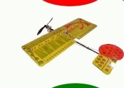 Millennium RC Micro SSX Balsa Build Kit - Product Image