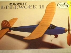 Free Flight Rubber Midwest Jabberwock II (original Midwest kit) - Product Image
