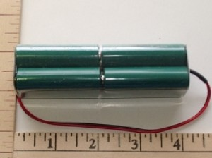 Radical RC 2500mah NiMH 8-AA cell 9.6V Square TX Pack - Product Image