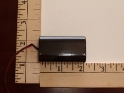 FDK/Sanyo 2500mAh 4-AA Cell 4.8V NIMH RX Square Pack - Product Image