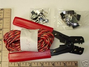 Radical RC Wire-Crimper-Connector Set JR/Spektrum/Hitec/Airtronics Type - Product Image