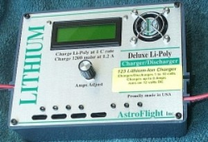 Astro Flight 123 Lithium Ion Ferrite Phosphate Charger - Product Image