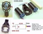 GWS Brushless Inrunner Motor 2300kv - Product Image
