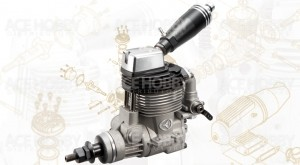 Thunder Tiger F-75S Four Stroke Engine - Product Image