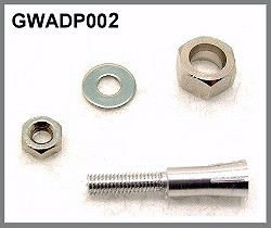 GWS 2mm motor shaft to 4mm Prop Hub - Product Image
