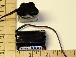 FDK/Sanyo 1000mAh 5-AAA Cell 6V NIMH RX Hump Pack - Product Image