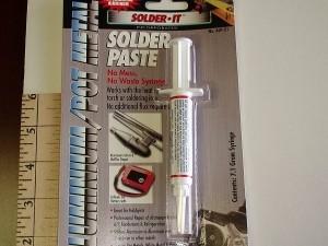 Aluminum Paste Solder - Product Image