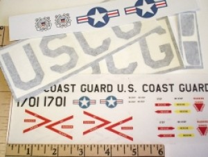 Radical RC US Coast Guard Graphics Set - Product Image