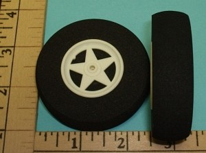 RRC 2.5 Inch Light Foam Wheels - Product Image