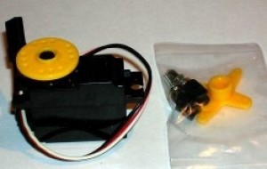 Dymond Precision Micro Servo D200 #12001 - Product Image