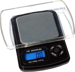 US Balance 1000g x 0.1g Magnum 1000XR Pro-Precision Pocket Scale - Product Image