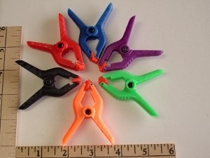 "RRC 2"" Hobby Plastic Clamps 6 Pack - Product Image"