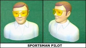 Williams Brothers 1/5 Scale Sportsman Pilot Kit - Product Image