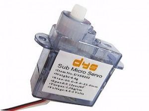 DYS Servo 4.4g (GS-4308) - Product Image