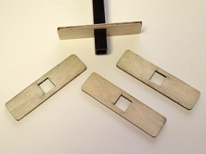 Slow Stick Straight Double Mounting Tabs Kit - Product Image