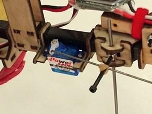 Slow Stick Single Servo Mounting Kit - Product Image
