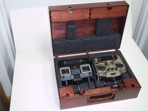 Radical RC Dual Transmitter Case Kit, Russian Birch - Product Image