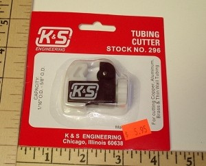 K & S Engineering Tubing Cutter - Product Image