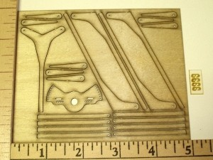 F3P Laser Control Horns Z Bend Set - Product Image